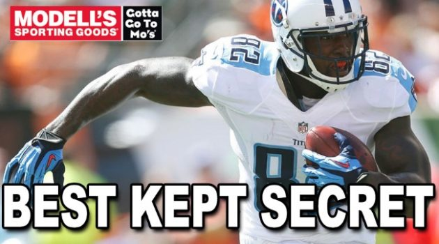 Delanie Walker lead all NFL tight ends in receptions in 2015.