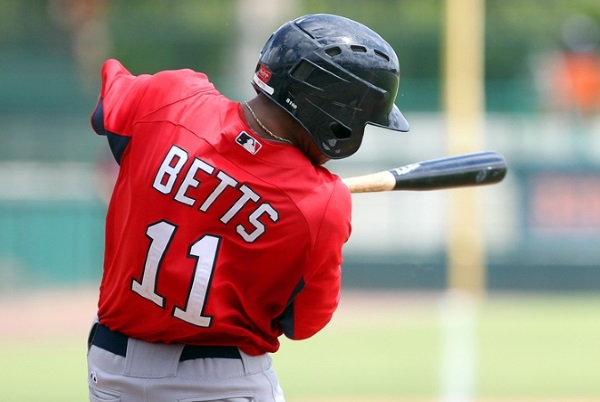 Today's fantasy baseball links are dominated by Mookie Betts.