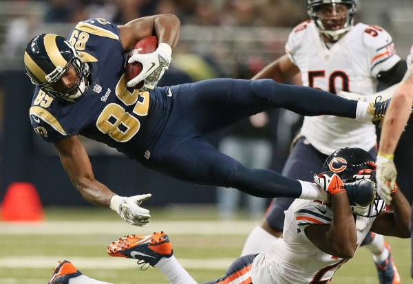 C.D. Carter on Jared Cook in today's fantasy football links.