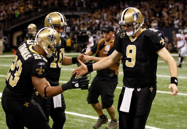 Pierre-Thomas-Drew-Brees